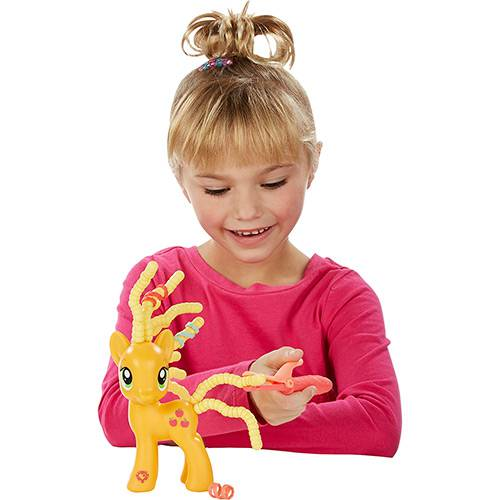 My Little Pony Applejack Penteado Adorável - Hasbro