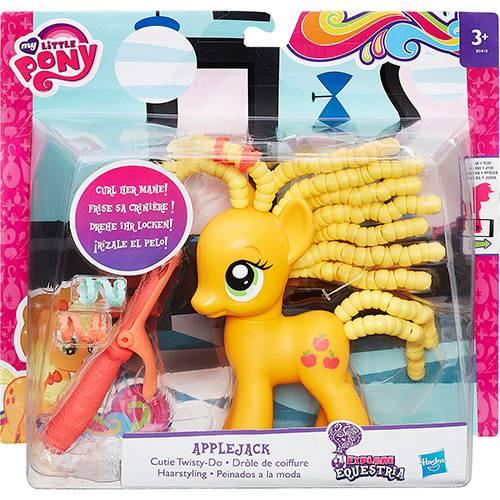 My Little Pony Applejack Penteado Adorável - Hasbro