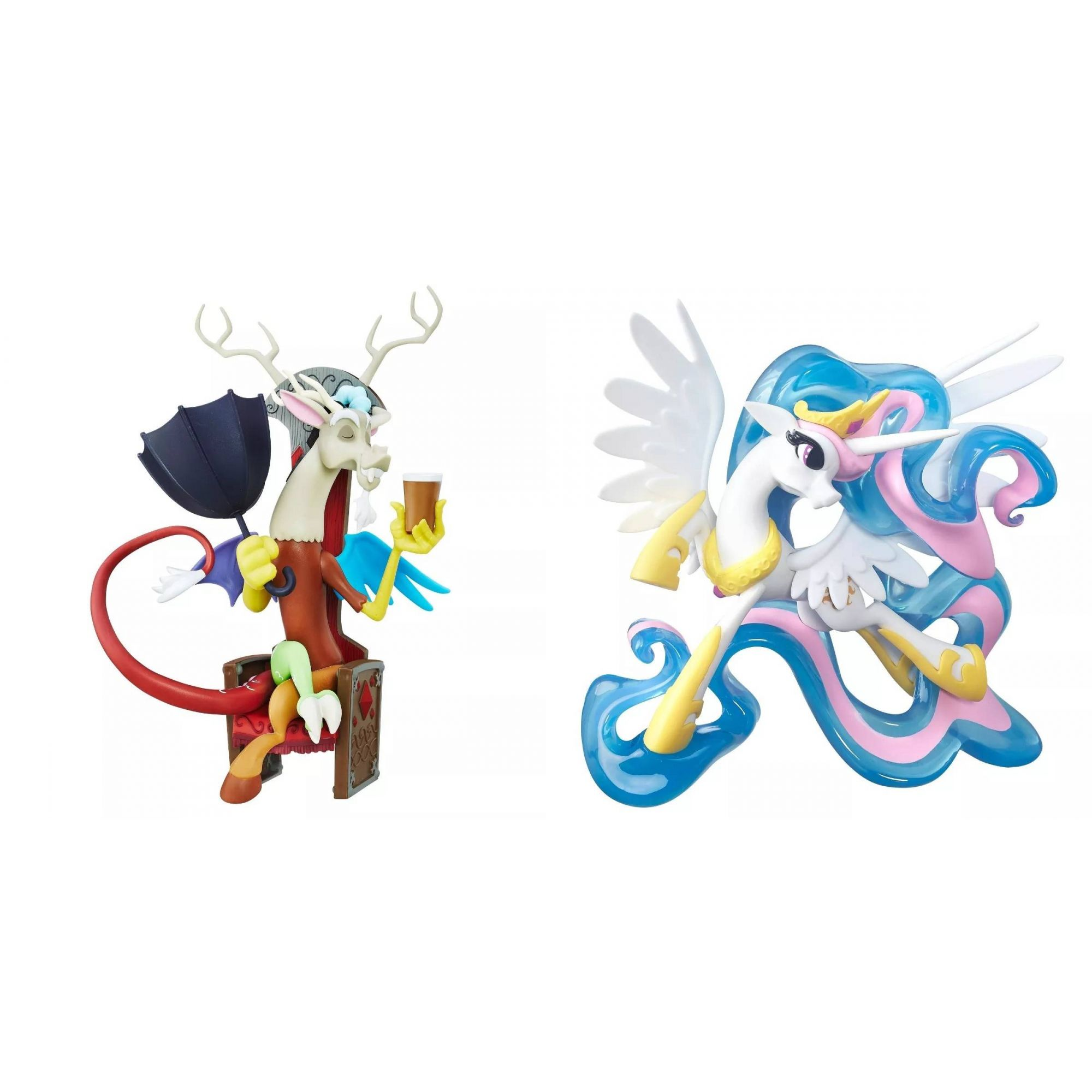 My Little Pony Guardians Of Harmony - Celestia + Discordia