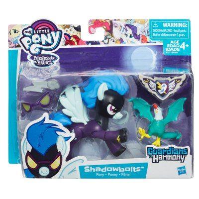 My Little Pony Guardians of Harmony - Shadowbolts e Basilisco - Hasbro