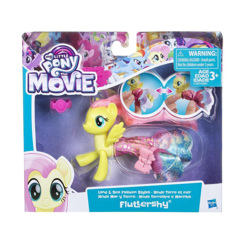 My Little Pony Moda Terrestre e Marinha Fluttershy - Hasbro