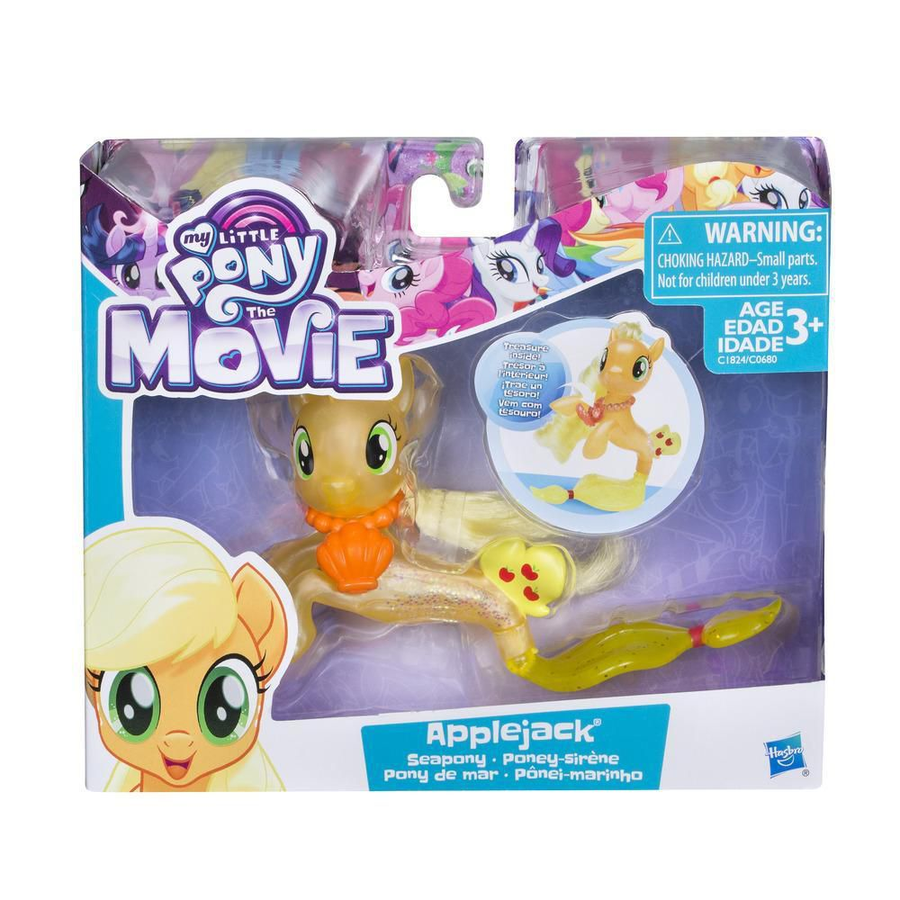 My Little Pony Ponei Marinho Applejack - Hasbro