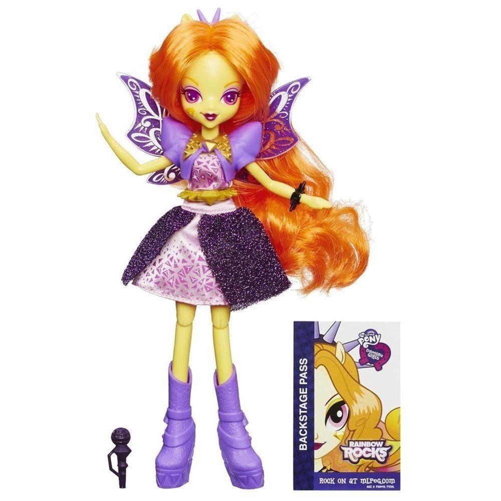Boneca My Little Pony Rainbow Rocks Adagio Dazzle Cantora - Hasbro acf01c8dc99