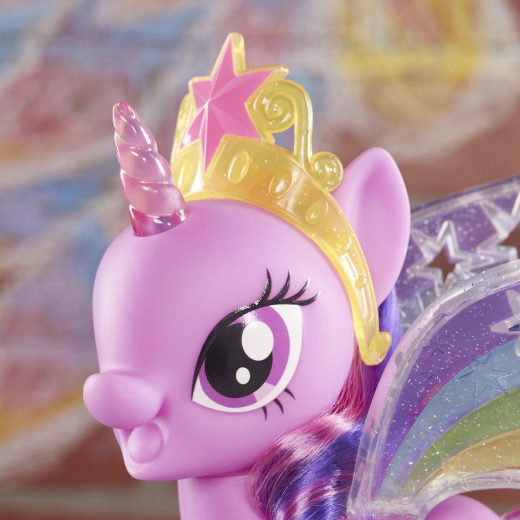 My Little Pony Twilight Sparkle Asas Arco-íris E2928 - Hasbro