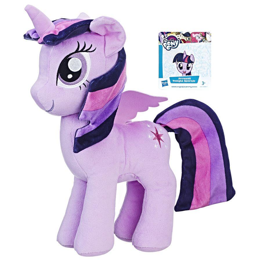 My Little Pony Twilight Sparkle - Pelúcia Grande 30 Cm B9817 - Hasbro