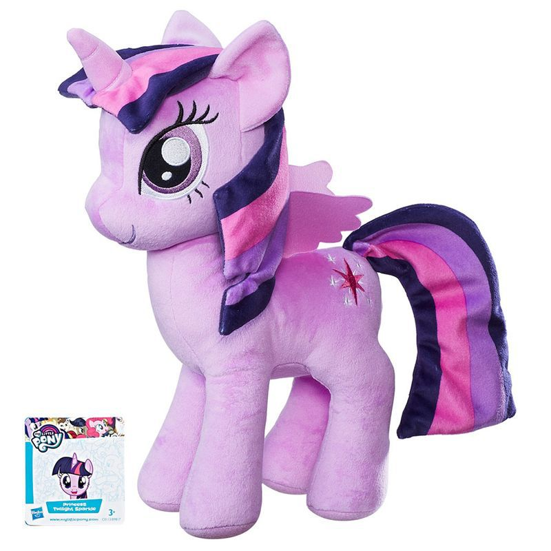 My Little Pony Twilight Sparkle - Pelúcia Grande 30 Cm B9817 - Hasbro