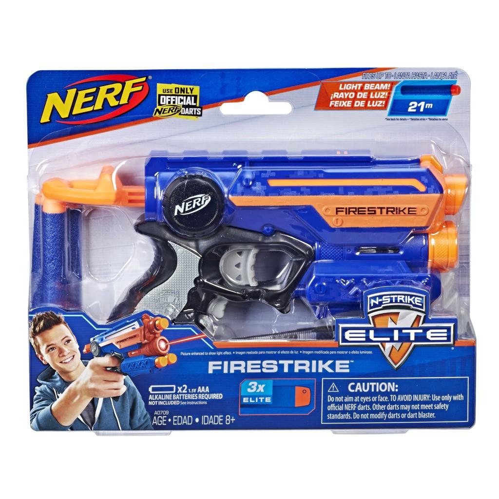 Lançador Nerf Elite Firestrike Com Feixe de Luz A0709 - Hasbro