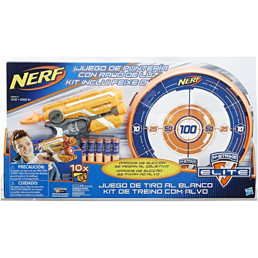 Nerf Elite Firestrike Com Feixe de Luz e Alvo A9541 - Hasbro
