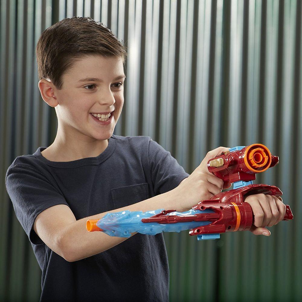 Nerf Vingadores Guerra Infinita Lançador Homem de Ferro - Hasbro