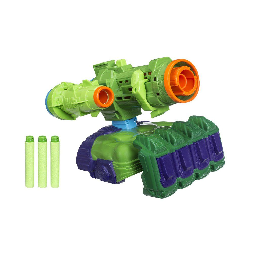 Nerf Vingadores Guerra Infinita Lançador Hulk E0612 - Hasbro