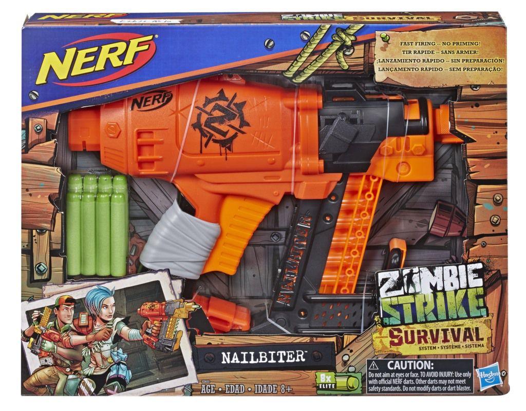 Nerf Zombie System Nailbiter E2672 - Hasbro