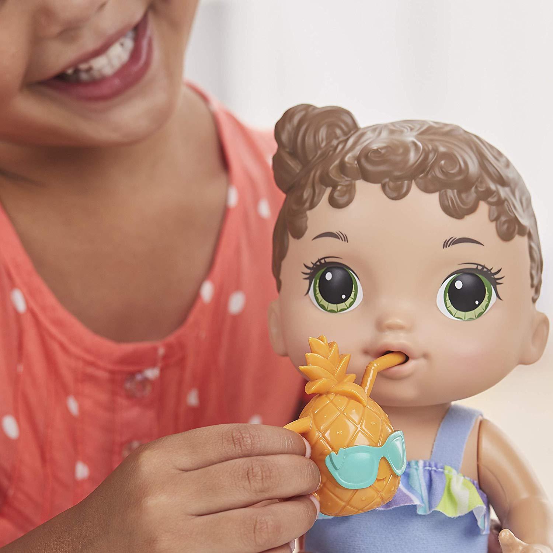Nova Boneca Baby Alive Sol e Praia com Acessorios E8718 - Hasbro