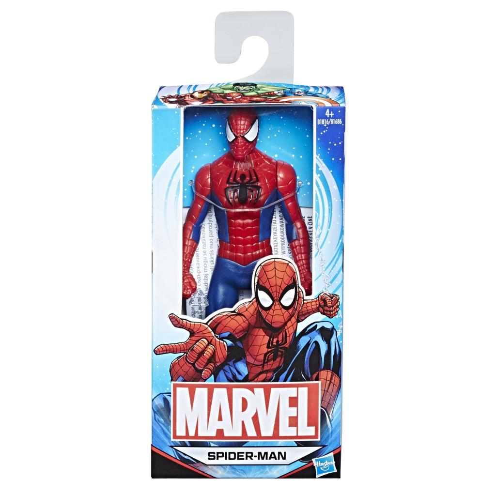 Pack 04 Bonecos Marvel Avengers 15CM - Homem Aranha - Capitão América - Homem de Ferro e Hulk B1686 - Hasbro