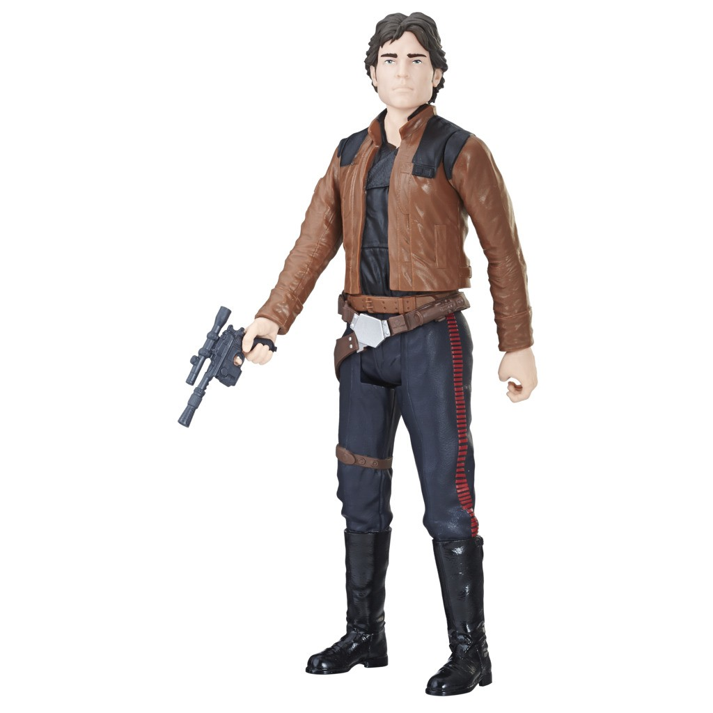 Boneco Star Wars Pack 4 Personagens Kylo Ren + Han Solo + Qira + Trooper E2380 - Hasbro