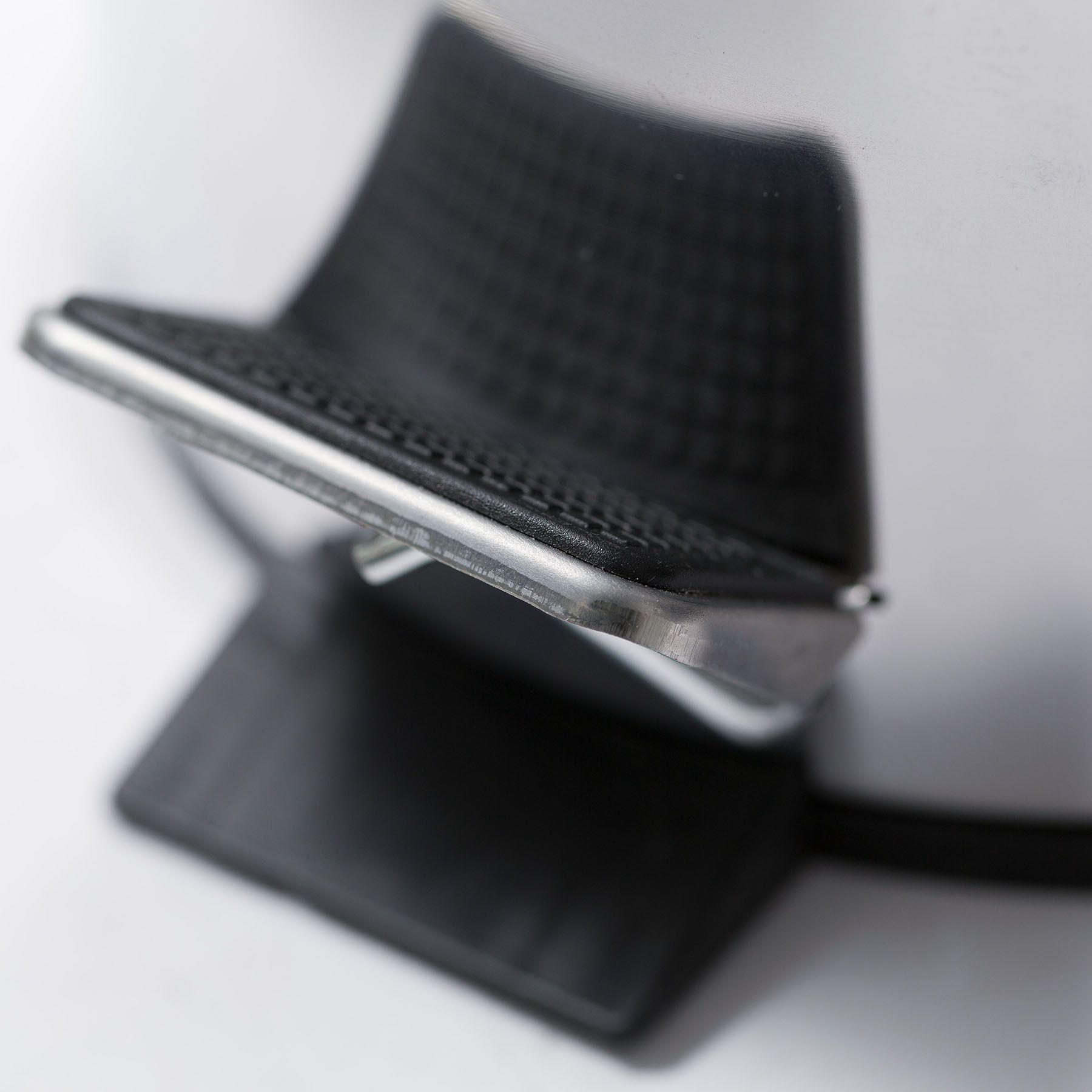 Pack 4 Unid. Lixeira Aço Inox 3 Litros com tampa e pedal cesto interno removivel - Dallare DL1324