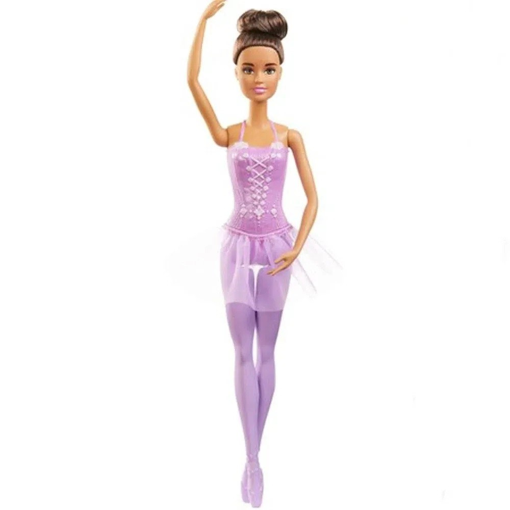 Pack Boneca Barbie Bailarina Loira e Morena GJL58 - Mattel