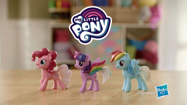 Pack My Little Pony Arco-iris Cores Surpresa E7703 - Hasbro