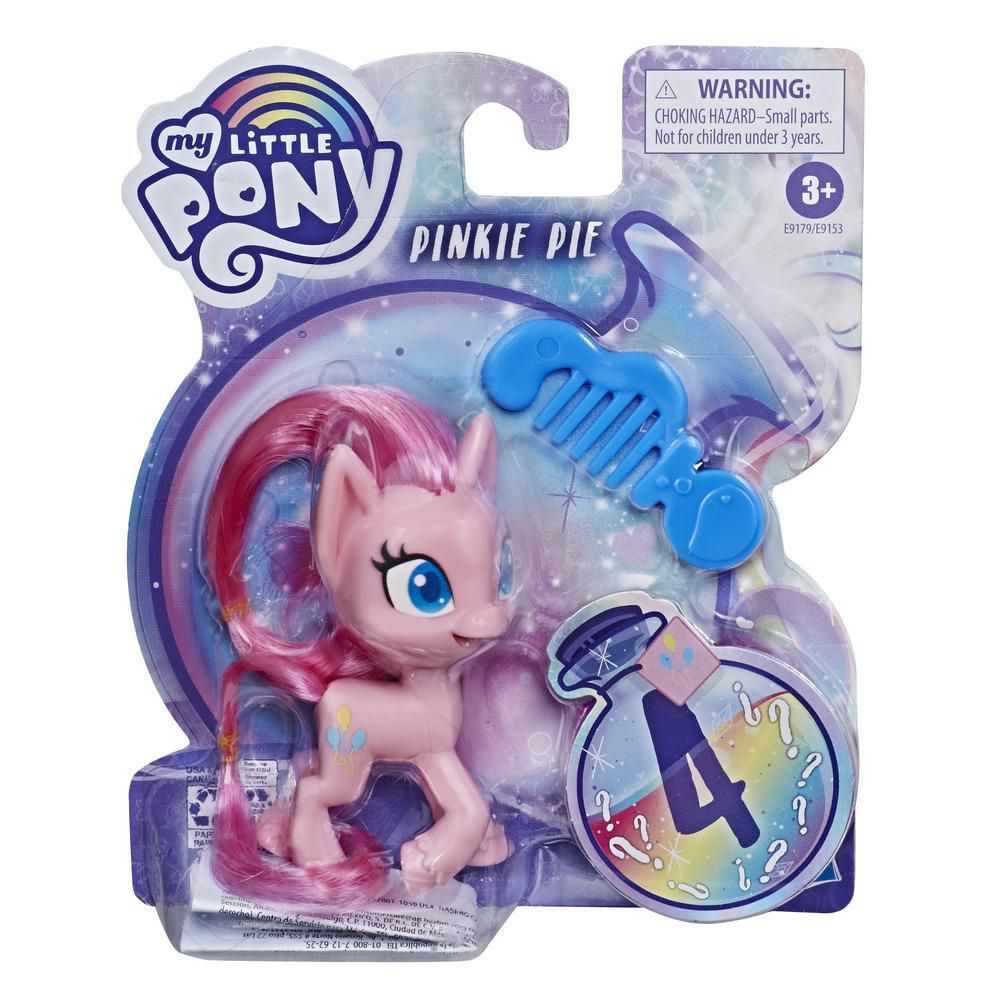 Pack My Little Pony Mini Trixie Lulamoon + Applejack + Pinkie Pie + Potion Nova - Hasbro E9153