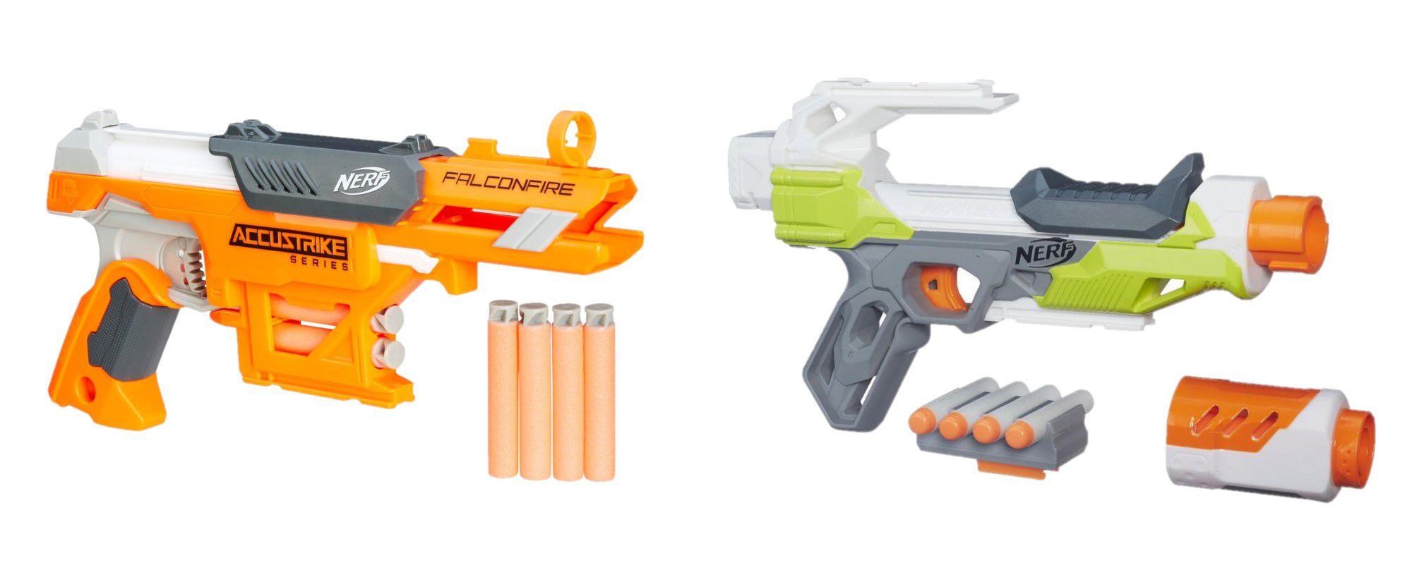 Pack Nerf Modulus Ionfire B4618 + Nerf Falconfire B9840 - Hasbro
