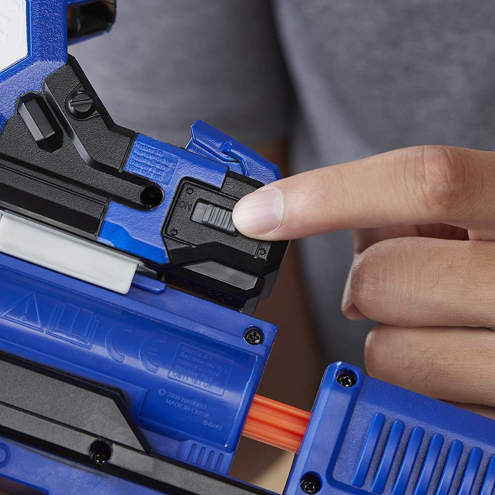Pack Nerf Surestrike Com Mira + 50 Dardos Elite  - Hasbro