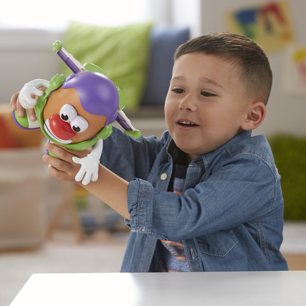 Pack Sr Cabeca de Batata como Woody e Como buzz Lightyear Toy Story 4 E3068 - Hasbro