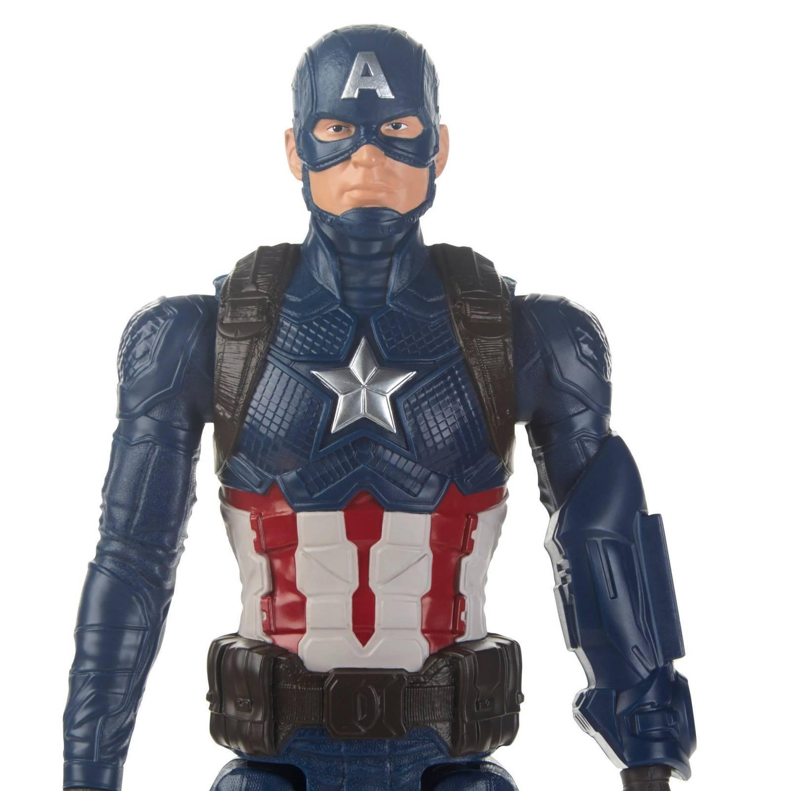Pack Vingadores Ultimato Boneco Homem de Ferro com Dispositivo Power Fx E3298 + Boneco Capitão América  E3919 - Hasbro