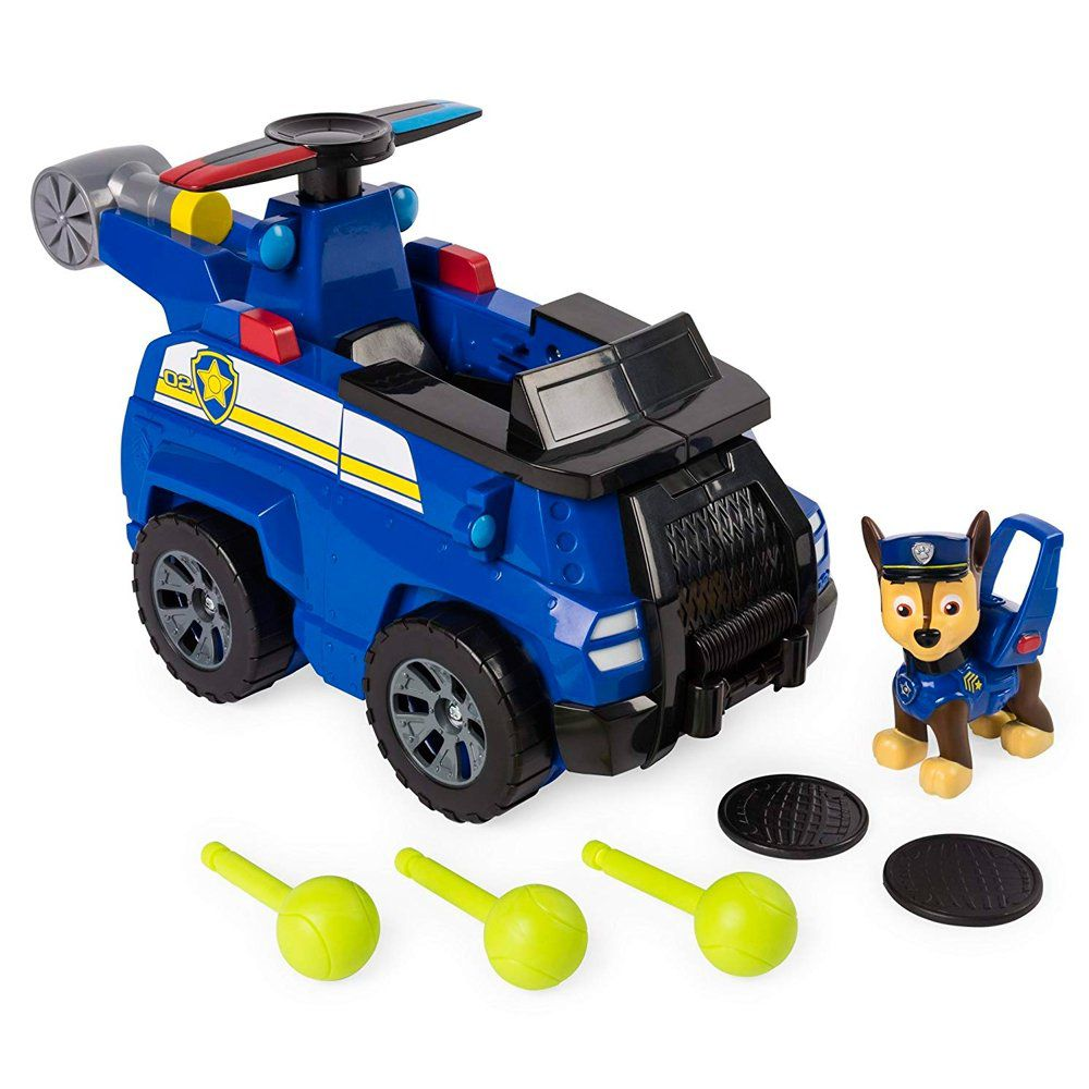Patrulha Canina Chase Com Veículo Flyp and Fly - Sunny
