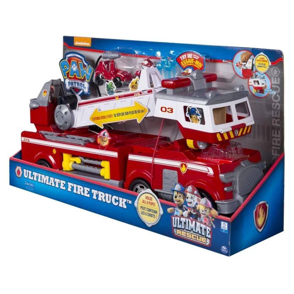 Patrulha Canina Resgate Extremo Marshall Super Caminhão de Bombeiro 1387 - Sunny