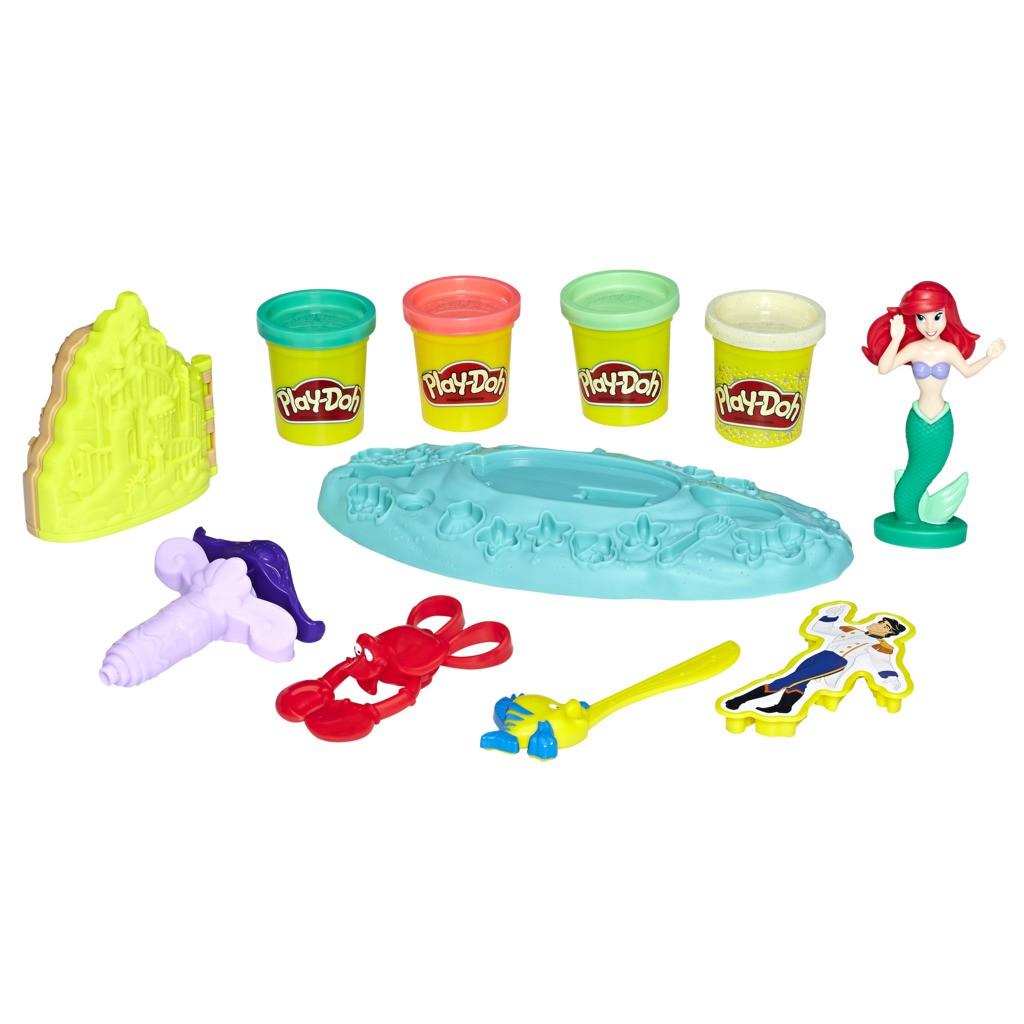 Play Doh Ariel Casamento no Fundo do Mar E0373 - Hasbro