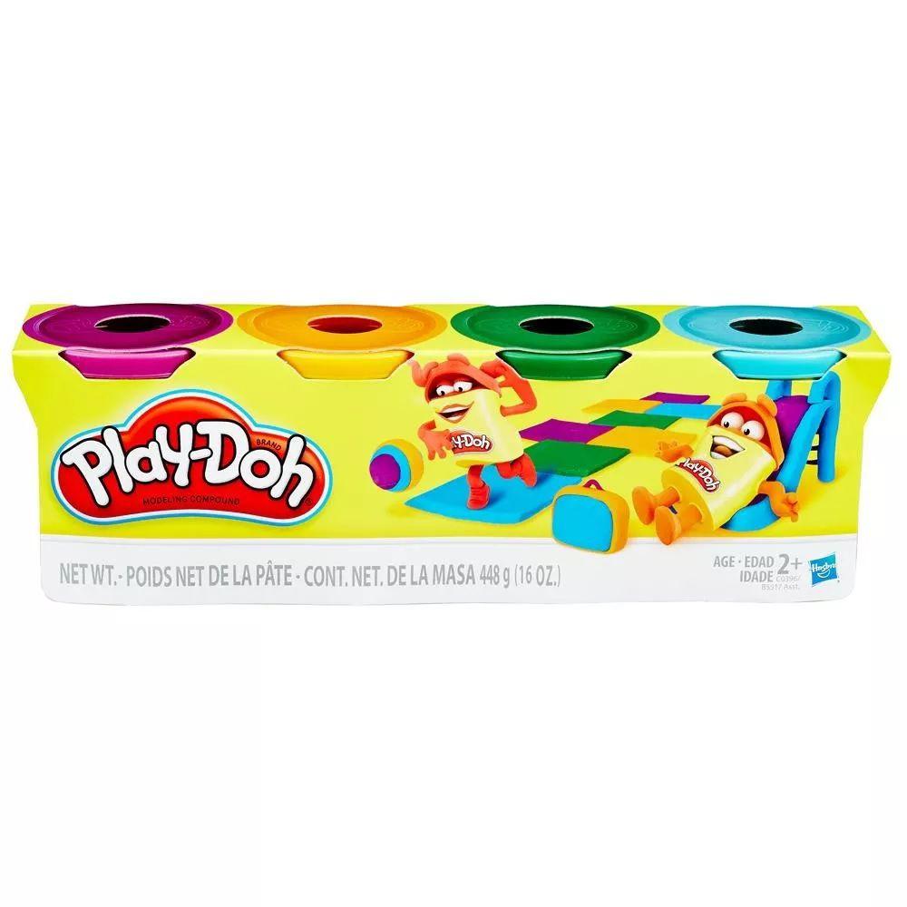 Play doh Massinha de Modelar Com 4 Potes B5517 - Hasbro