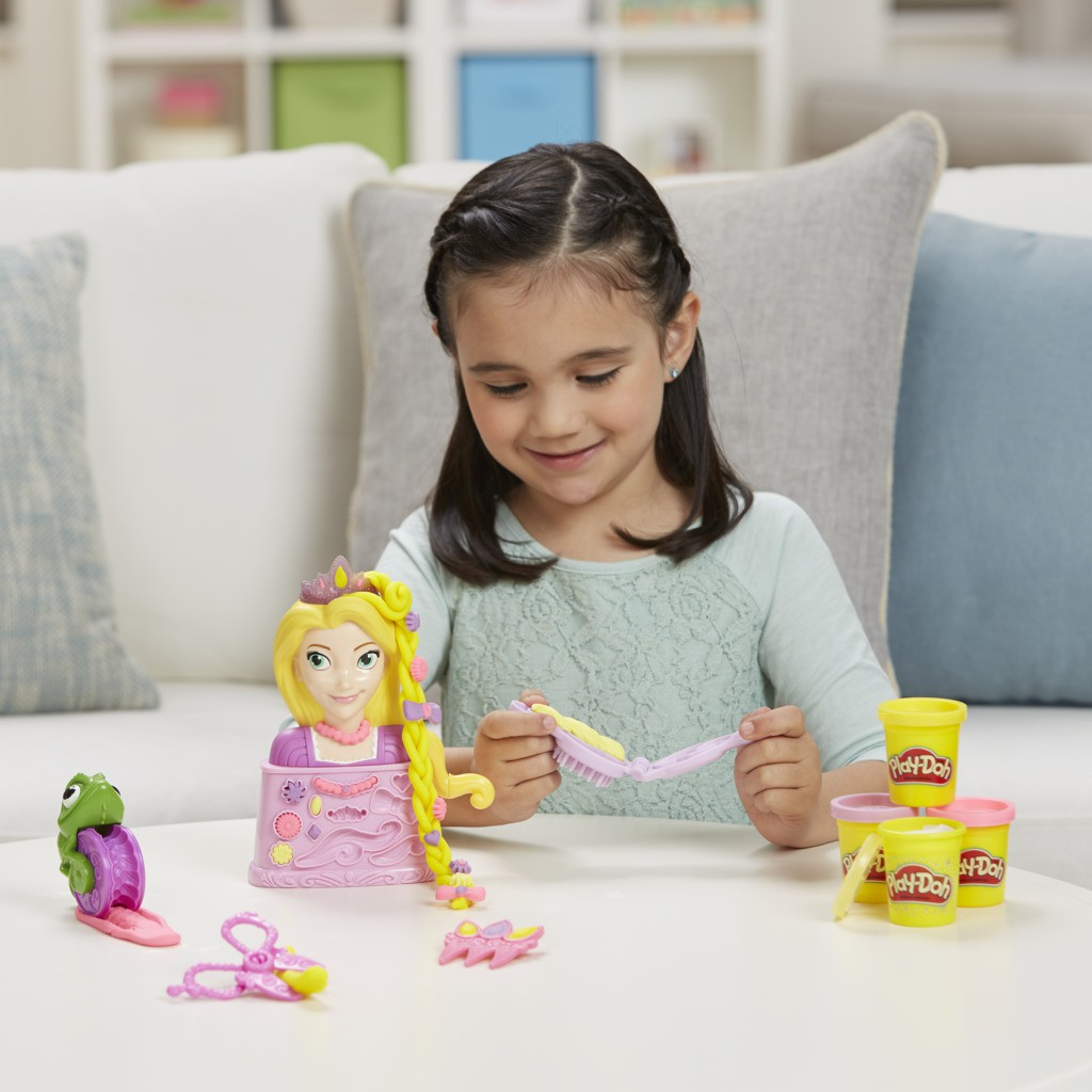 Play Doh Salao da Rapunzel C1044 - Hasbro