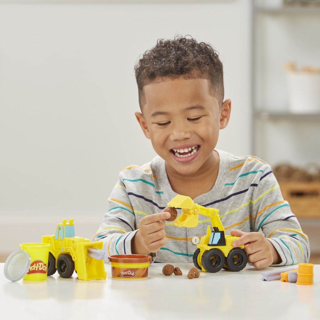Play Doh Wheels Escavadeira e Carregadeira E4294 - Hasbro