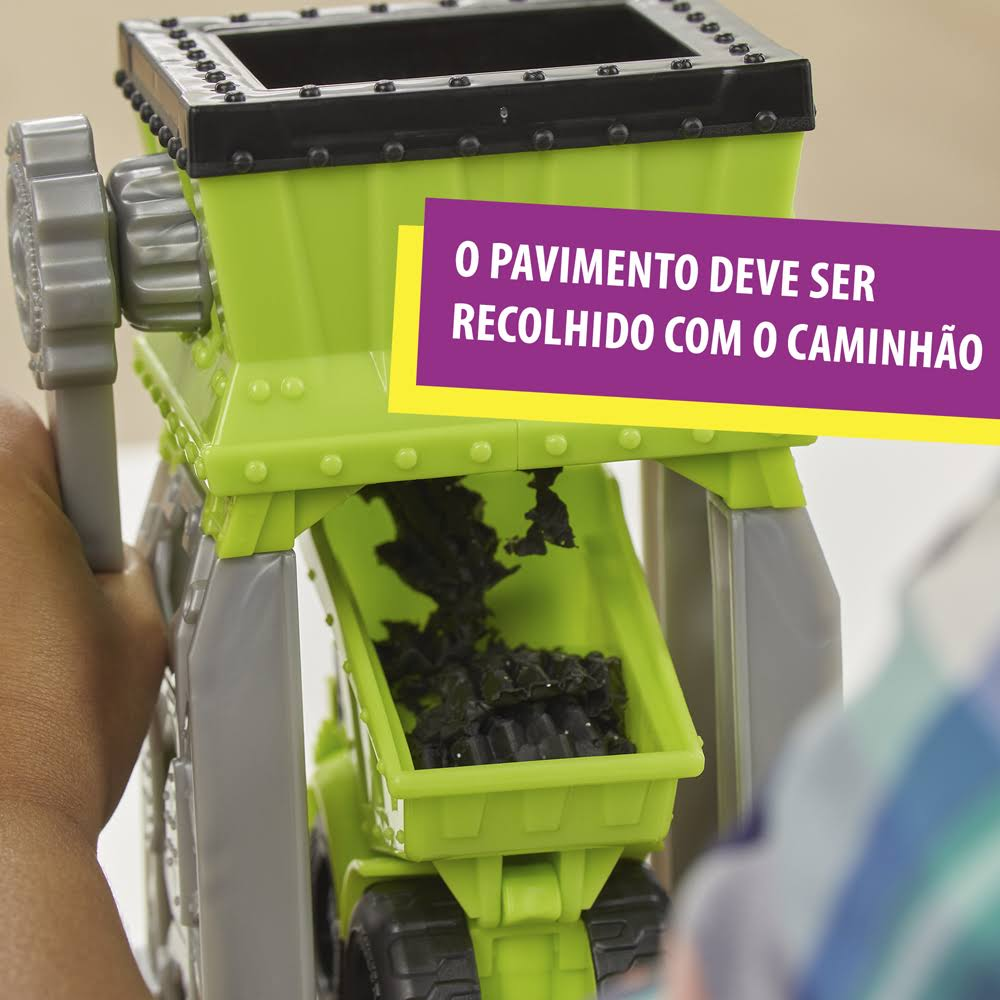 Play Doh Wheels Terreno de Cascalho E4293 - Hasbro