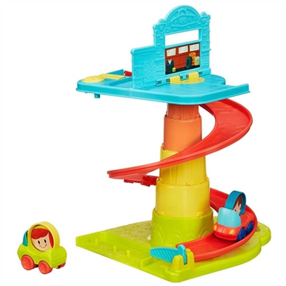 Brinquedo Playskool Rampa com Veículos B1649 - Hasbro - Brincar quardar e levar