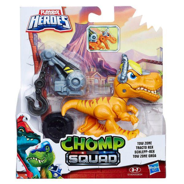 Dinossauro Chomp Squad Tow Zone - Hasbro