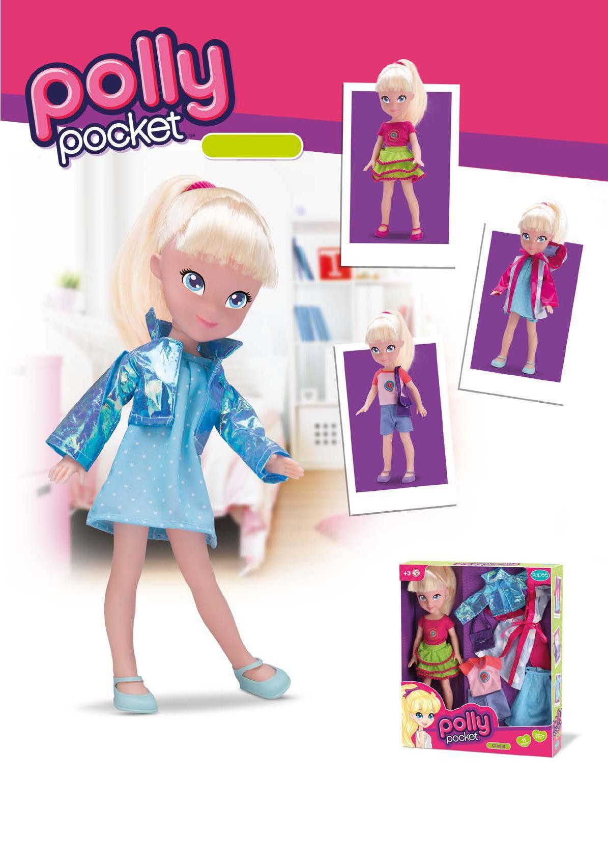 Polly Pocket Closet 35 cm - Pupee