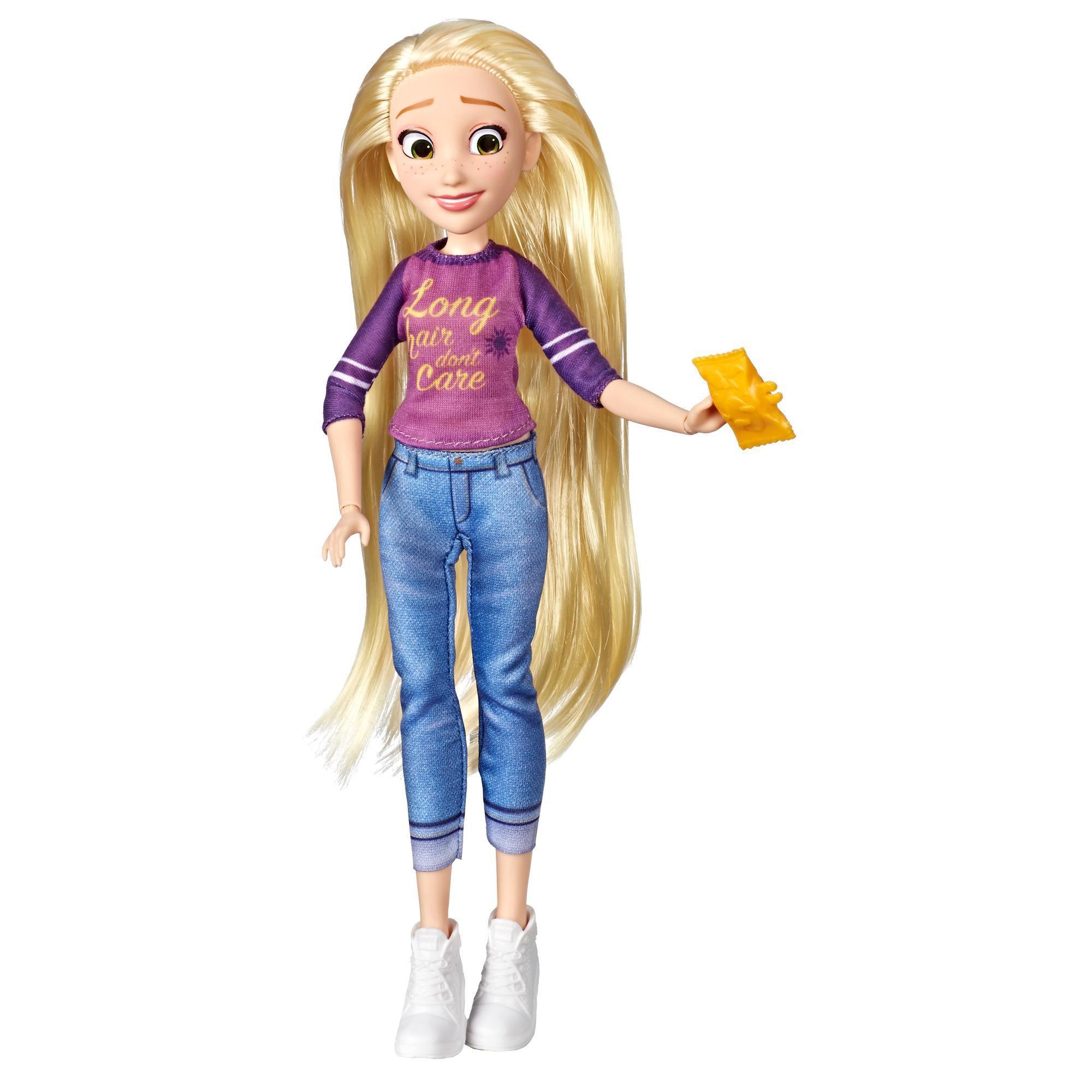 Princesa Disney Comfy Squad RAPUNZEL Detona Ralph 2 E8402 - Hasbro