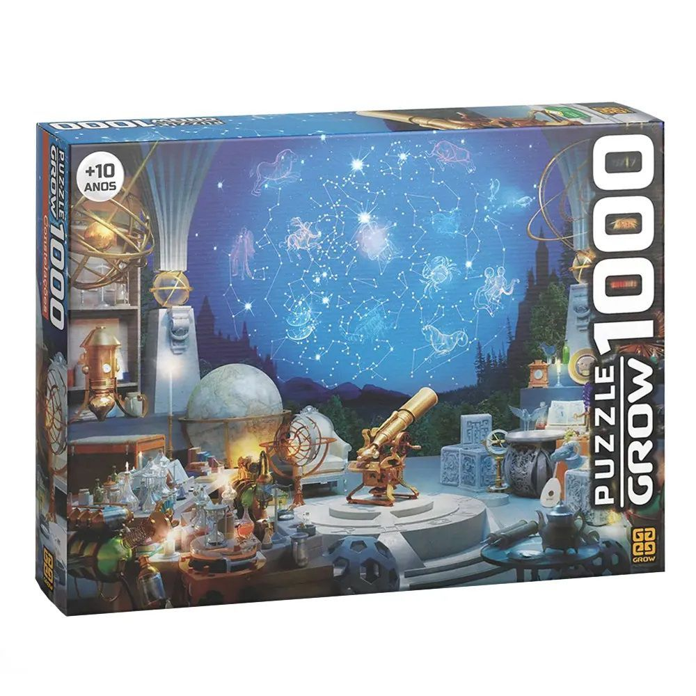 Quebra Cabeça 1000 Peças Constelações  - Puzzle Grow