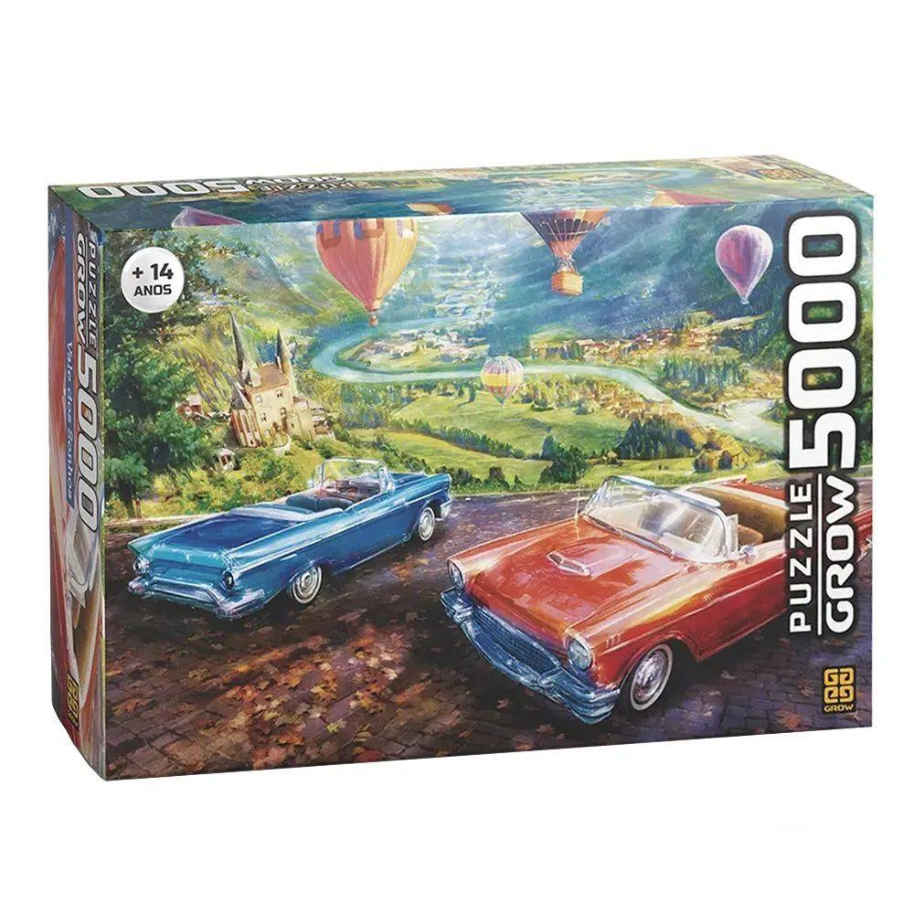 Quebra Cabeça 5000 Peças Vale dos Sonhos - Puzzle Grow
