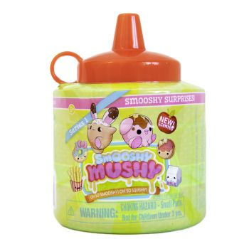 Smooshy Mushy - Kit Surpresa Com Smooshy Surprise Serie 1 Ketchup - Toyng - 35760