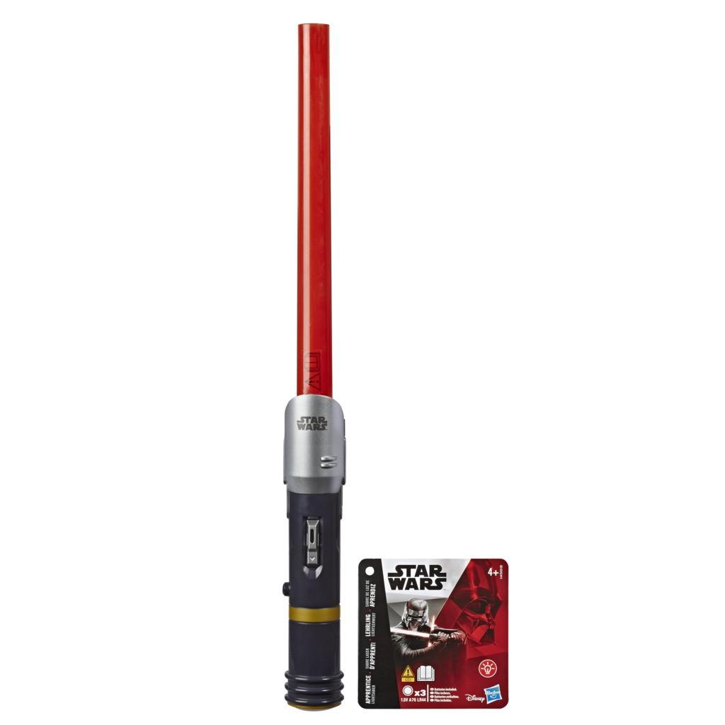 Star Wars Disney Sabre De Luz Vermelho Eletrônico - Academia do Sabre E4475 E3120 - Hasbro
