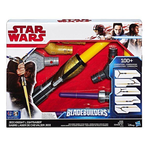 Star Wars Sabre de Luz Bladebuilders o Último Jedi - Hasbro