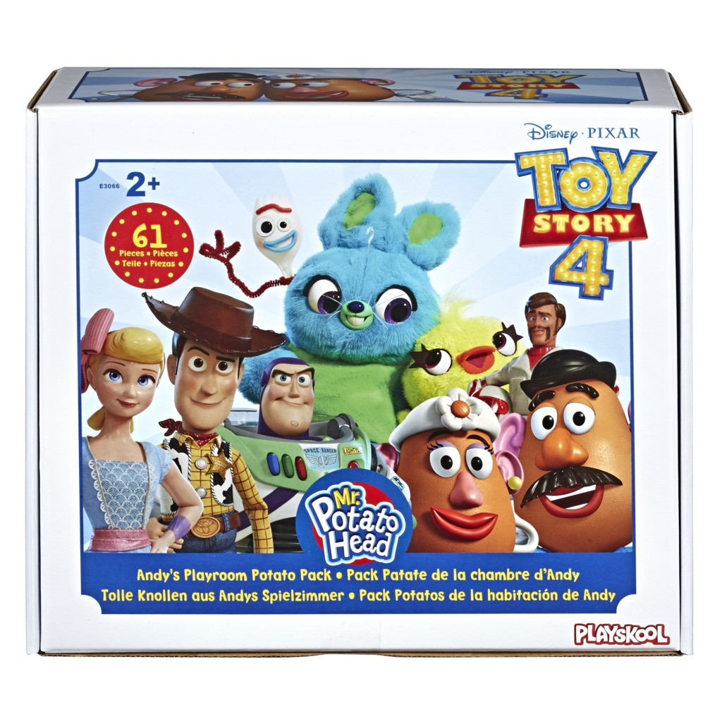 Super Pack Toy Story 4 Mr. Potato Head Quarto do Andy E3066 - Hasbro