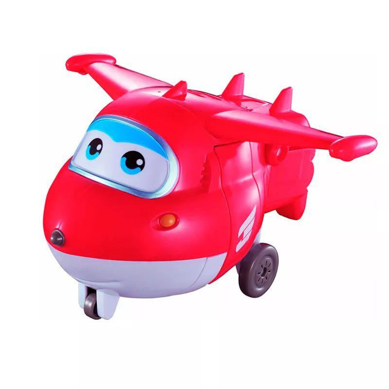 Super Wings Jett Grava e Fala 18 cm - Fun