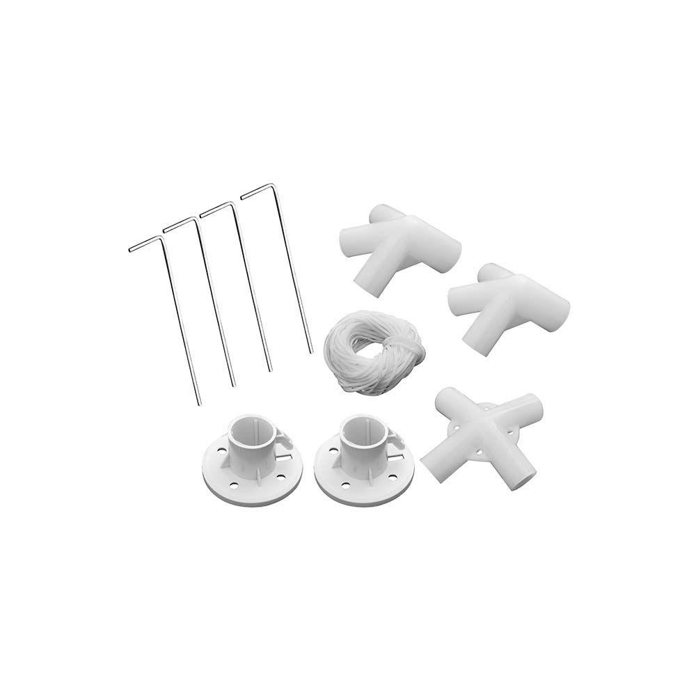 Tenda Gazebo 3x3 Rafia Branco - Mor