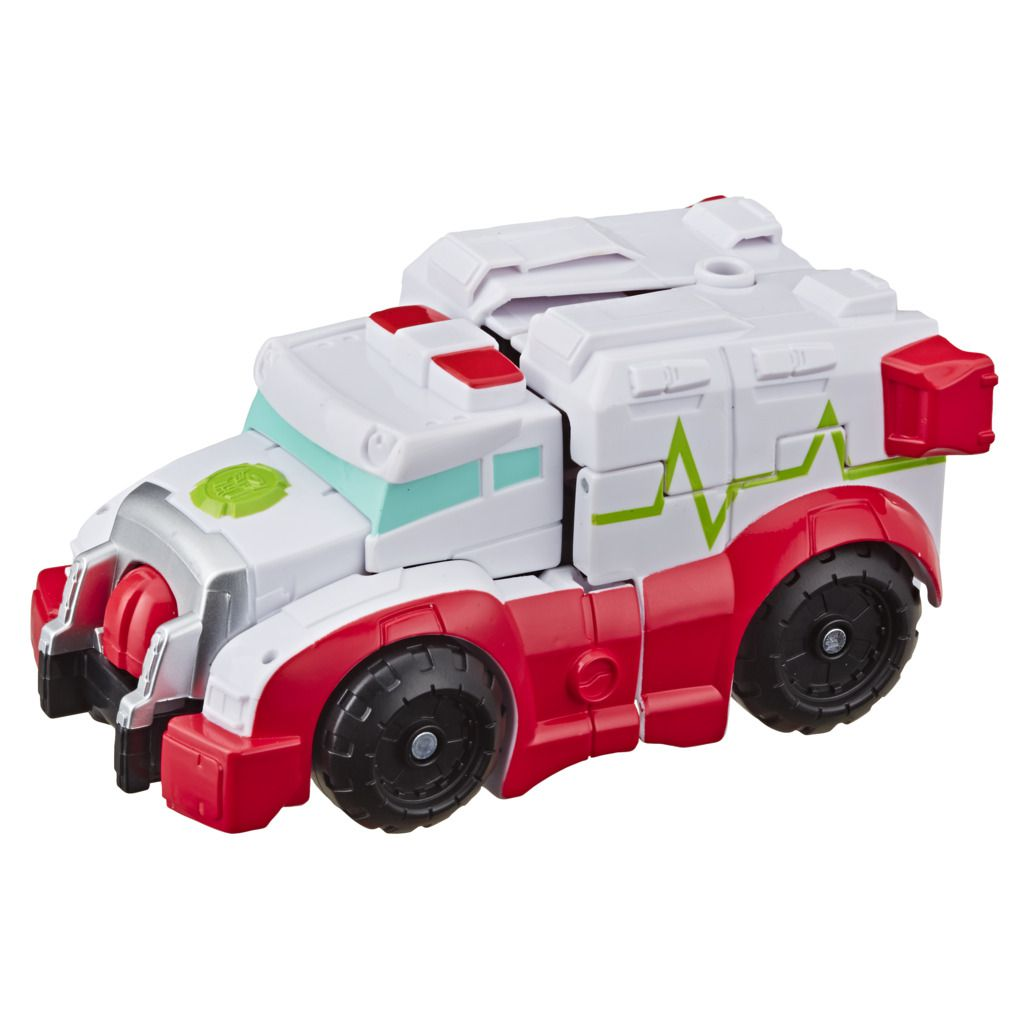 Transformers Rescue Bots Academy E5366 - Pack com 6 Personagens - Hasbro