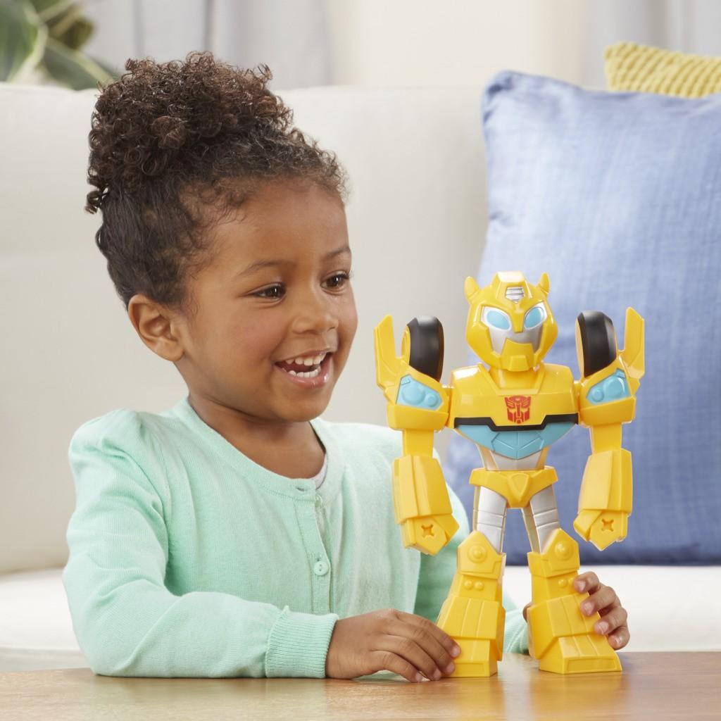 Transformers Rescue Bots Bumblebee  + Hot Shot Mega Mighties E4131 - Hasbro