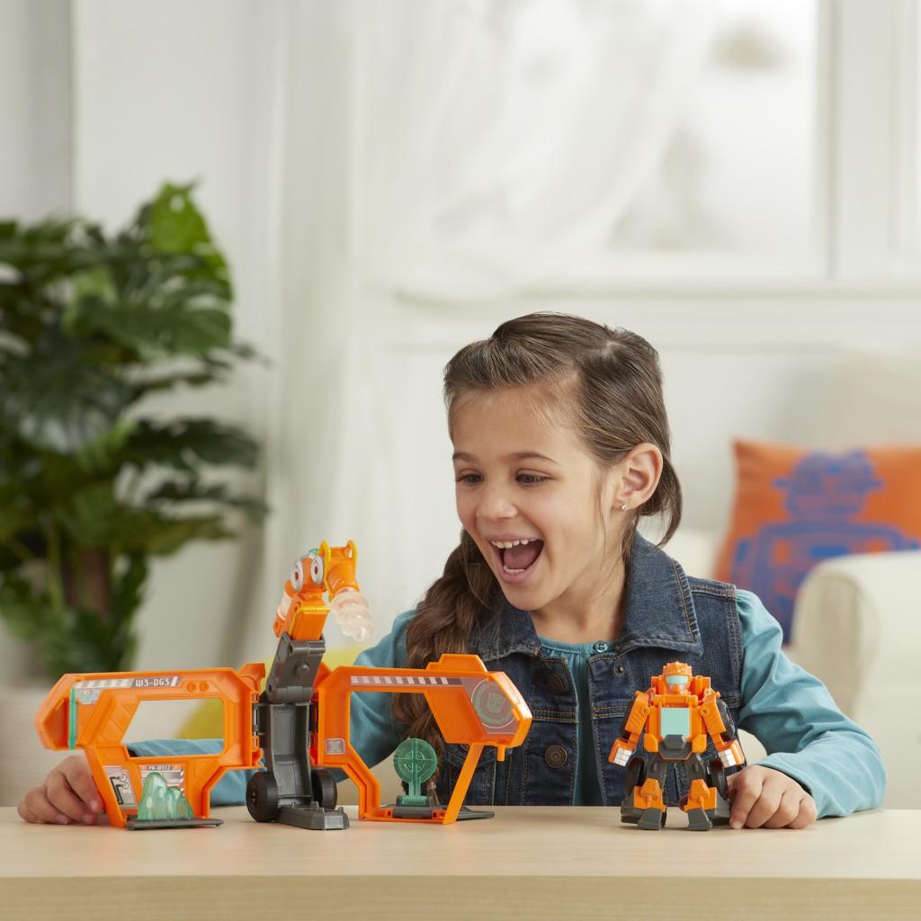 Transformers Rescue Bots Comando Central do Wedge  E7180 E6431 - Hasbro