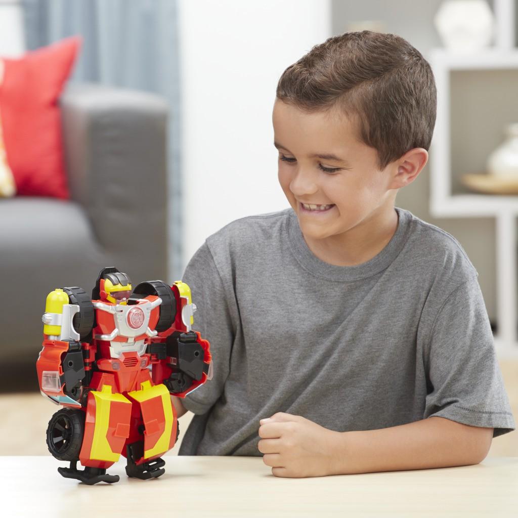 Transformers Rescue Bots Hot Shot Eletronico E1988 - Hasbro