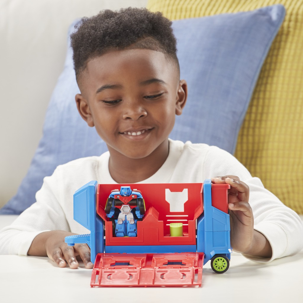 Transformers Rescue Bots Optimus Prime Lançador E3285 - Hasbro
